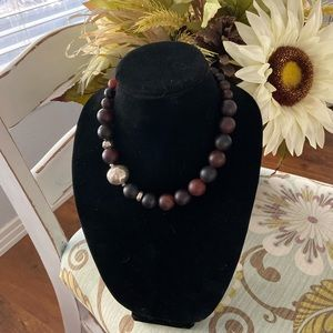 Silpada 925 Sterling Silver Large Beaded Necklace